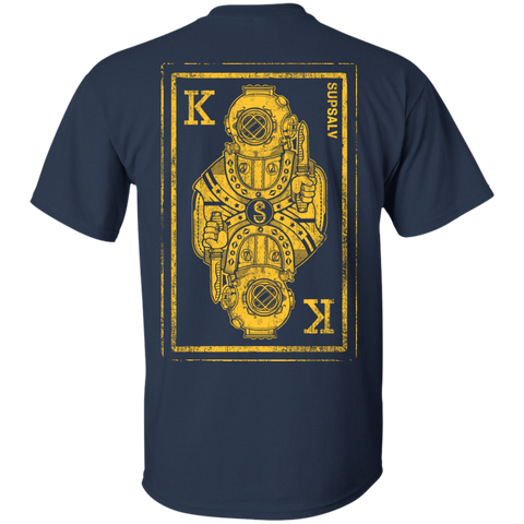 MK V King Card (B&G) Gildan Cotton T-Shirt