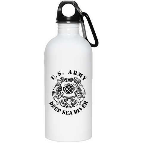 Army Diver 20 oz Stainless Steel Water Bottle