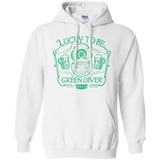 Lucky To Be Green Diver Hoodie