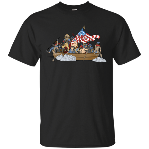 Deepsea Crossing Delaware Gildan Cotton T-Shirt