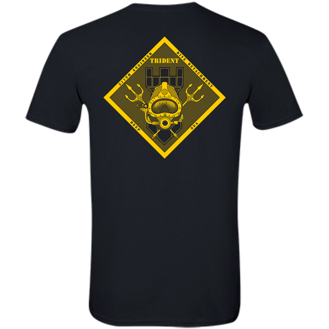 511th Army Diver (B&G) Slim-fit Softstyle T-Shirt