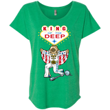 King of the Deep Ladies Triblend Dolman Sleeve