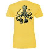 Octopus Corrosion Ladies' Boyfriend Tee