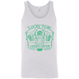 Lucky To Be Green Diver Unisex Tank