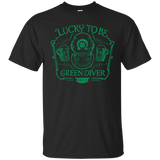 Lucky To Be Green Diver T-Shirt