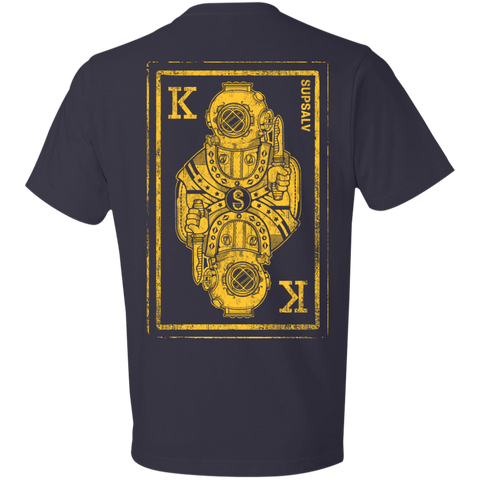 MK V King Card (B&G) Anvil Lightweight T-Shirt