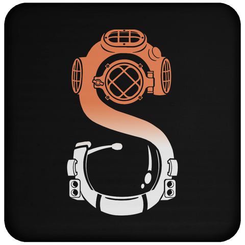 Astronaut Diver (Color) Coaster