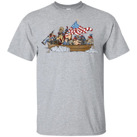 Deepsea Crossing Delaware Gildan Youth Cotton T-Shirt