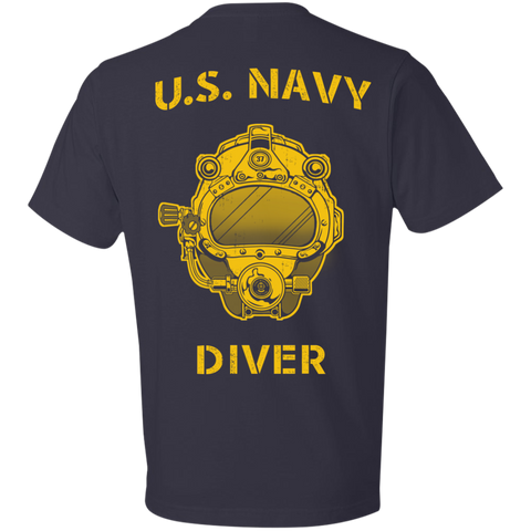 U.S. Navy Diver Anvil Lightweight T-Shirt