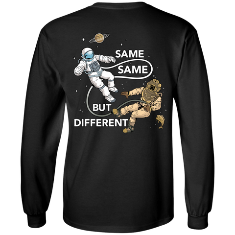 Astronaut Diver (Color) Long Sleeve