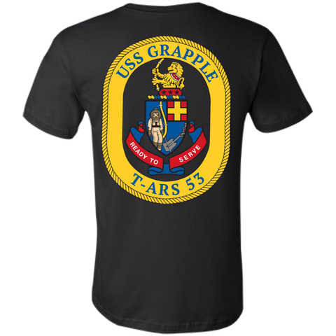 USS Grapple (Color) Unisex Jersey T-Shirt