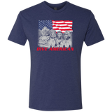 Dive American (Front) Triblend T-Shirt