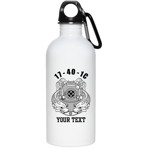 17-40-1C 20 oz Stainless Steel Water Bottle