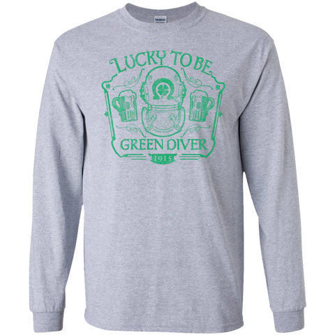 Lucky To Be Green Diver Long Sleeve