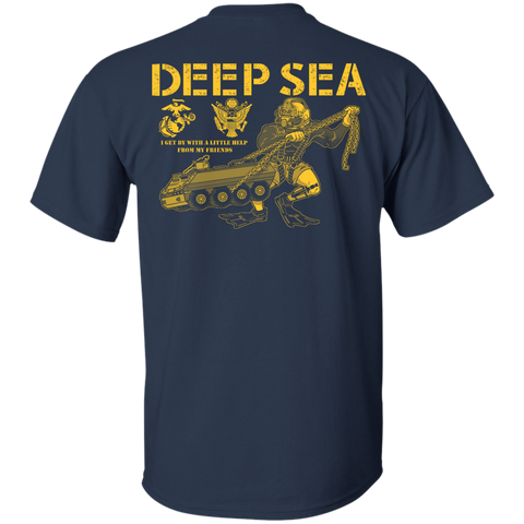 NRNS Dive Team (B&G) Gildan Cotton T-Shirt