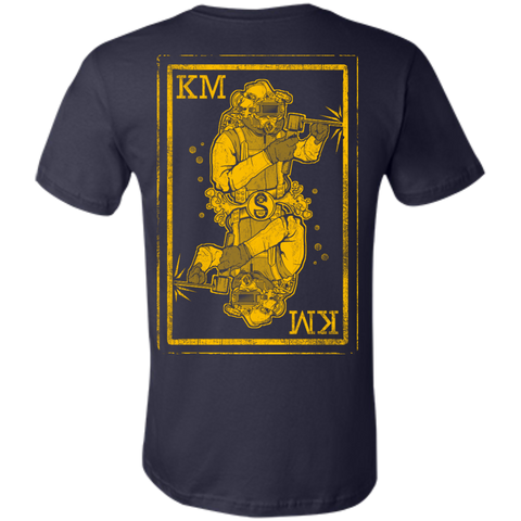 KM Winter Welder (Yellow) Unisex Jersey T-Shirt