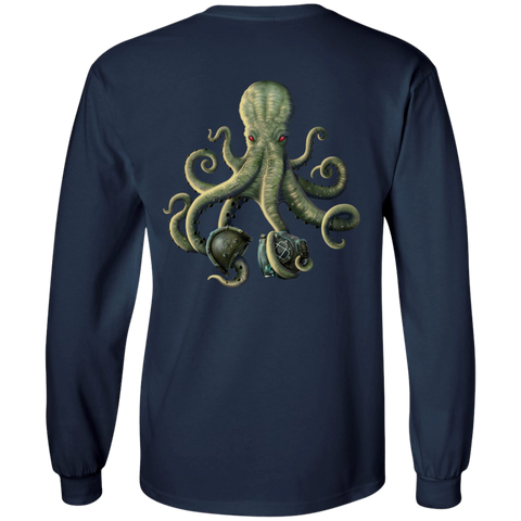 Octopus Corrosion Long Sleeve