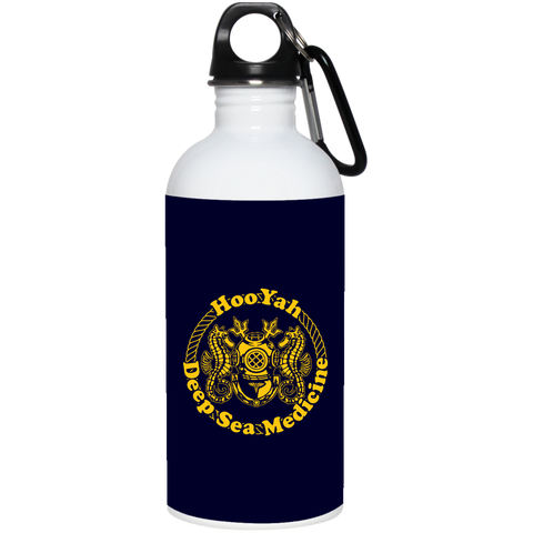 Deep Sea Medicine (B&G) 20 oz Stainless Steel Water Bottle