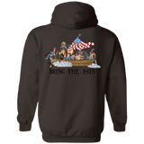 17-50-1C Crossing Delaware (Instructor) Hoodie