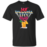 Hot Panama City Nights (Front) Cotton T-Shirt