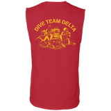 Dive Team Delta Cotton Sleeveless Tee