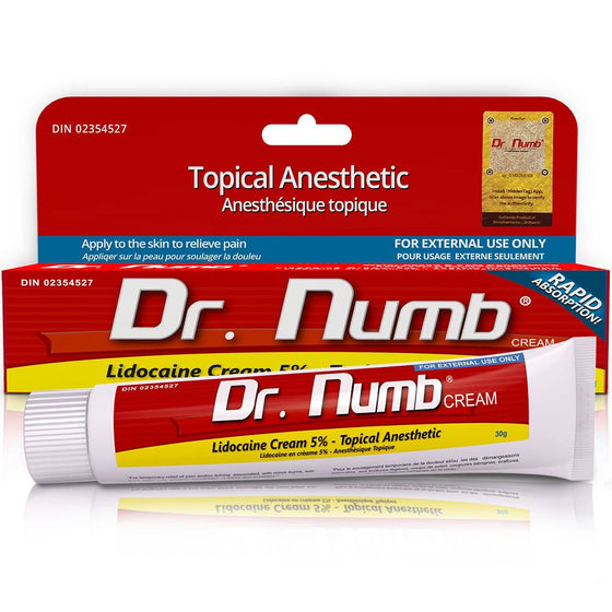 Dr. Numb - Tattoo Care - Mithra MFG Inc.