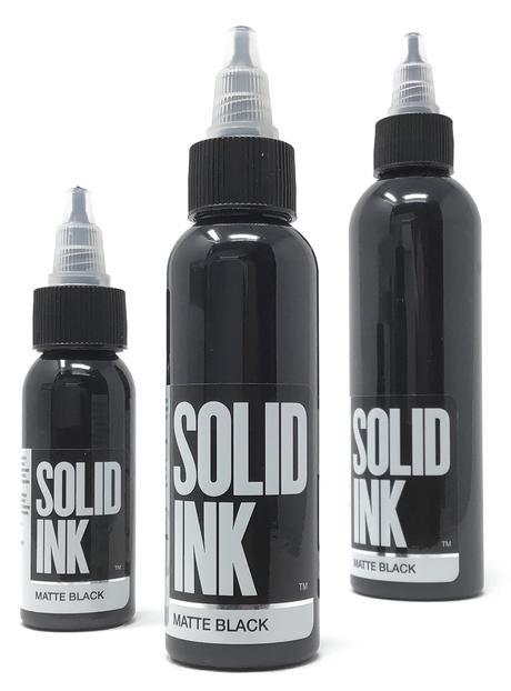 Solid Ink Matte Black