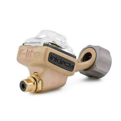 InkJecta Flite Nano Elite Rotary Tattoo Machine — Blast Brass - Mithra MFG.