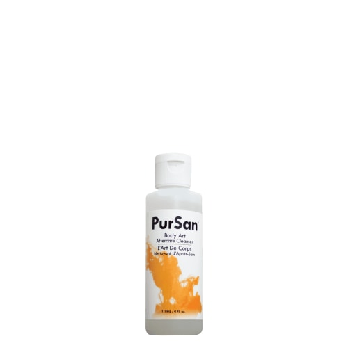 PurSan Aftecare Soap by Solabs (120ml) - Tattoo Care - Mithra MFG Inc.