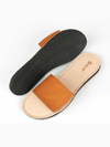Cognac Slides, Shoes, deux mains, Affordable Ethical Fashion - Love Justly
