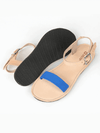 Caribbean Blue Sandals, Shoes, deux mains, Affordable Ethical Fashion - Love Justly