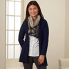 Ribbed Shawl Cardigan - Ethical Cardigans - Serrv