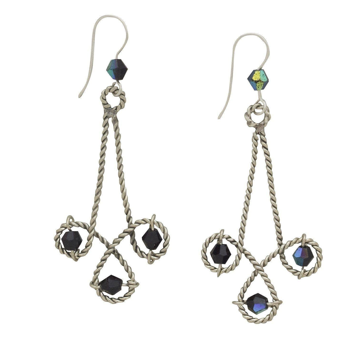 in baublebar view white drop jewelry lyst earrings melayna beaded fullscreen teardrop