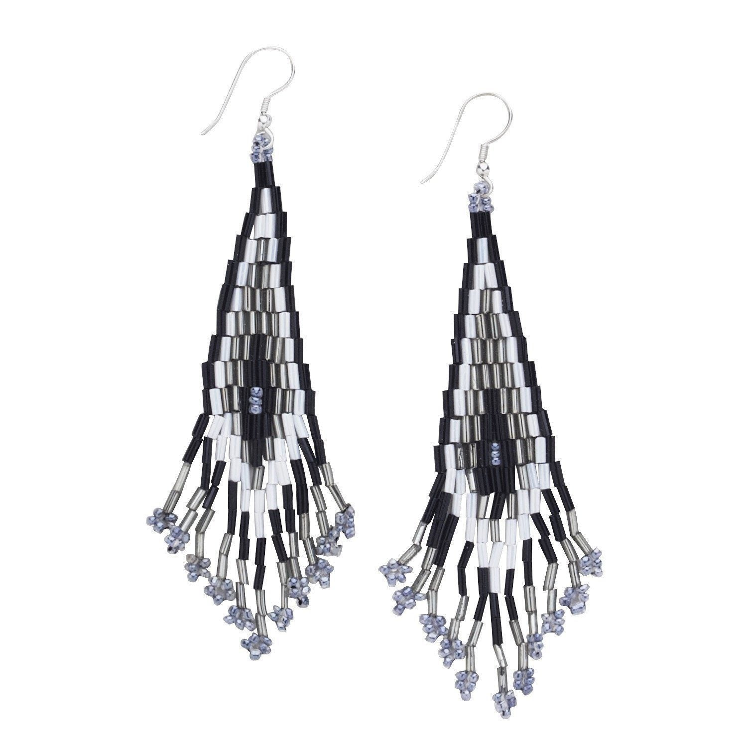 gold diamond white jewelry dangling earrings fashion