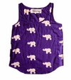 Kissing Elephants Tank Top, Loungewear, Symbology, Affordable Ethical Fashion - Love Justly