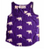 Kissing Elephants Tank Top - Ethical Loungewear - Symbology