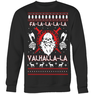 Viking Fa La La Valhalla La Holiday Sweater