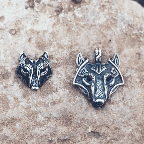 Lupo™ - His & Hers Wolf Head Necklaces
