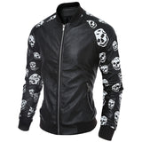 Men Jackets And Coats Windbreaker Leather Clothes