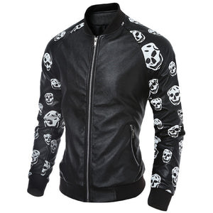 Men Jackets And Coats Windbreaker Leather Clothes - Idiyka.com