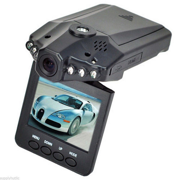 "Promotion 6LED 2.5"" TFT 270 degrees rotation angle HD Car DVR Vehicle Camera - Idiyka.com"
