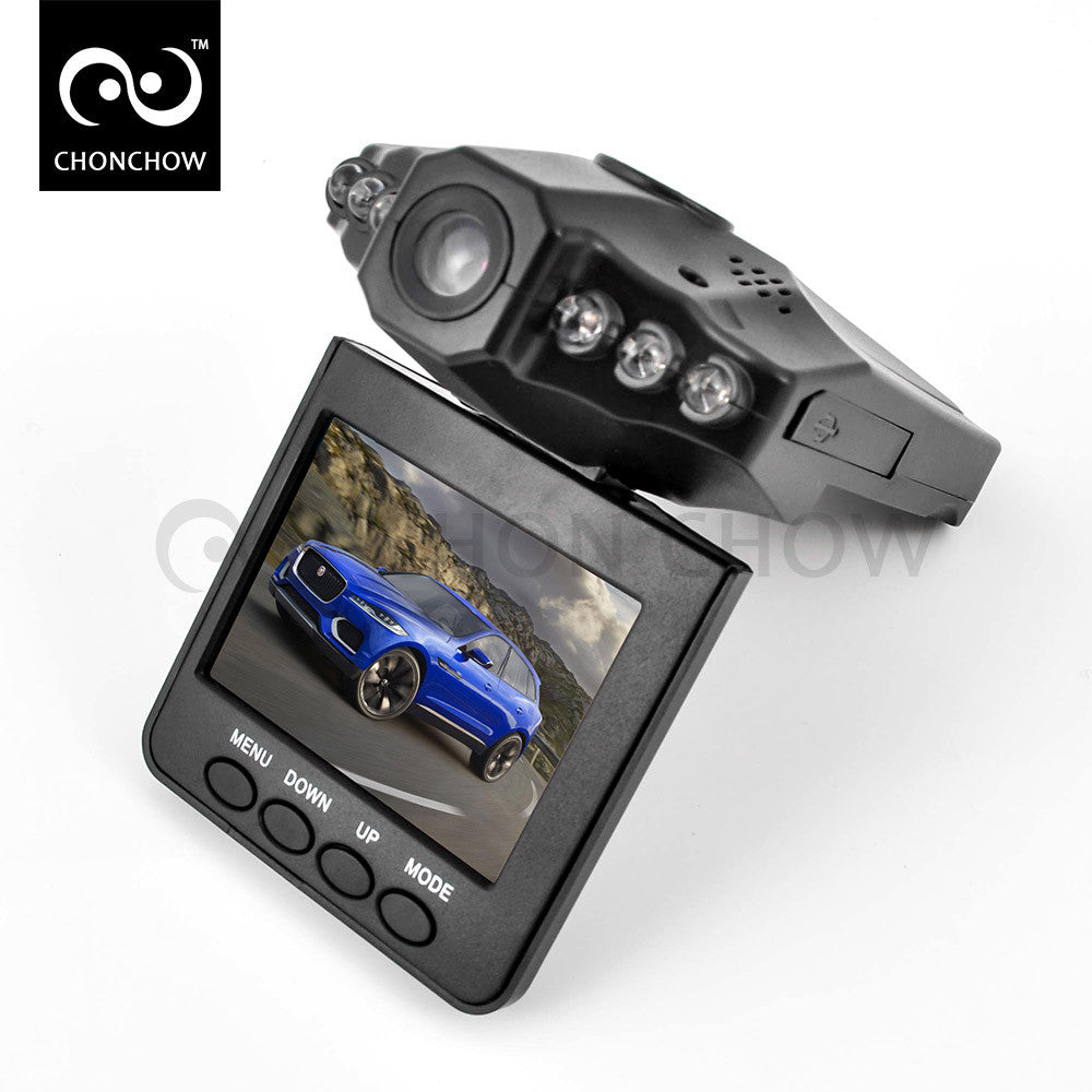 6 LED 2.5 inch LCD Car camera - Idiyka.com