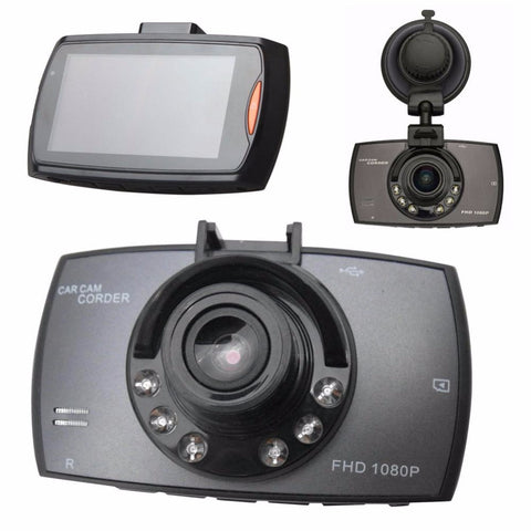 2.7 inch Car Camera Night Vision G-Sensor DVR with Supplement Lamp