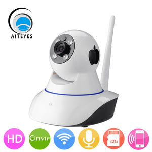 AIteyes Smart IP Camera Wifi Indoor 720P HD Baby Monitor - Idiyka.com