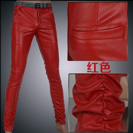 Men Leather pants  fashion - Idiyka.com