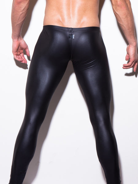 Men's Sexy Skinny Pants Performance Pu Leather - Idiyka.com