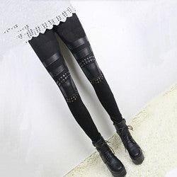 Leather Leggings For Women Winter Spring Idiyka