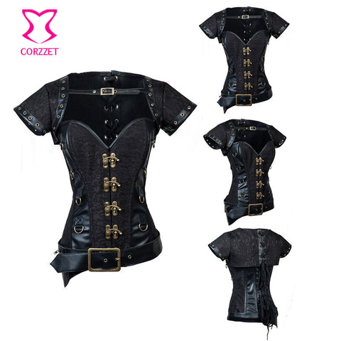 Women Corset Steampunk Gothic Clothing Idiyka