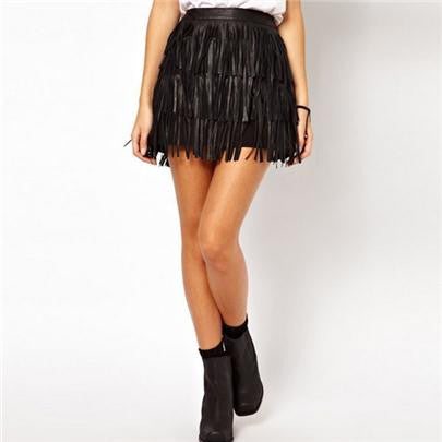 Skirts High Waist A-Line Mini Lady's Clothing