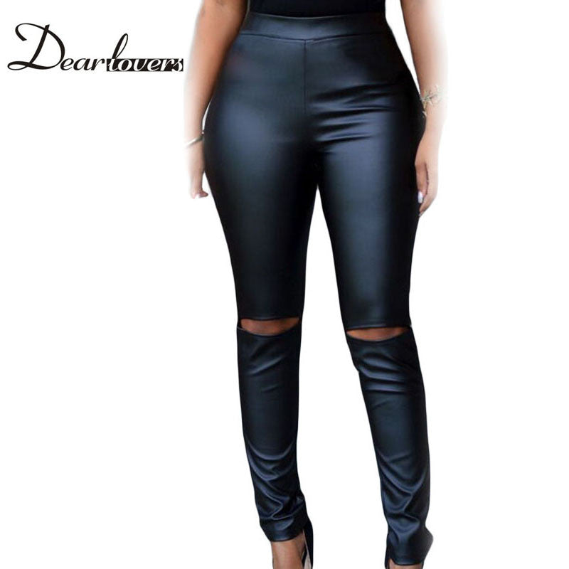 Leather leggings legging Idiyka